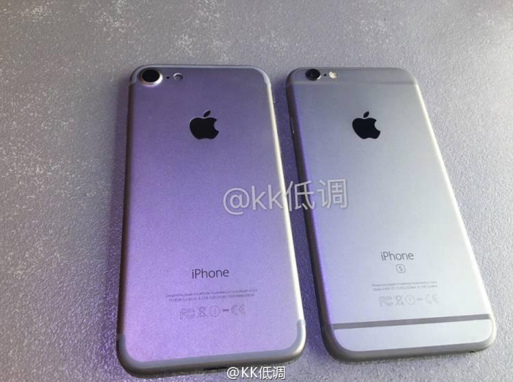 아이폰7, 실물, 아이폰6s, 디자인, 비교, 스펙, 유출