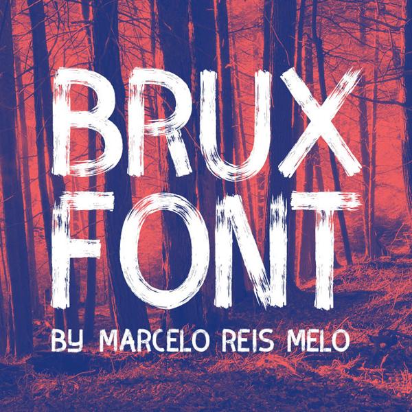 BRUX – Free Brush Font