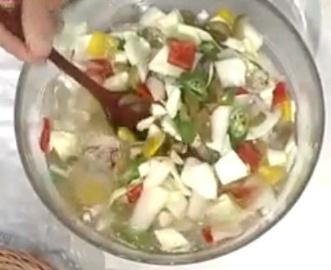양배추 물김치