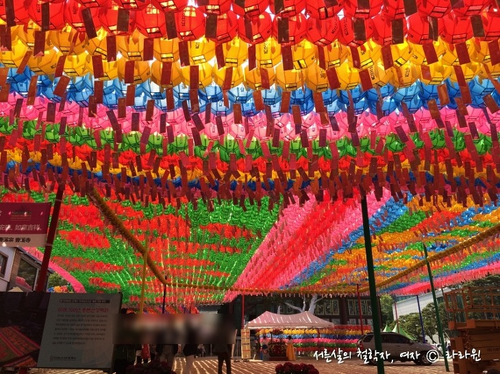 조계사 연등 축제, 석가탄신일 연등