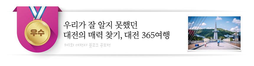 대전의 매력찾기, 대전 365여행