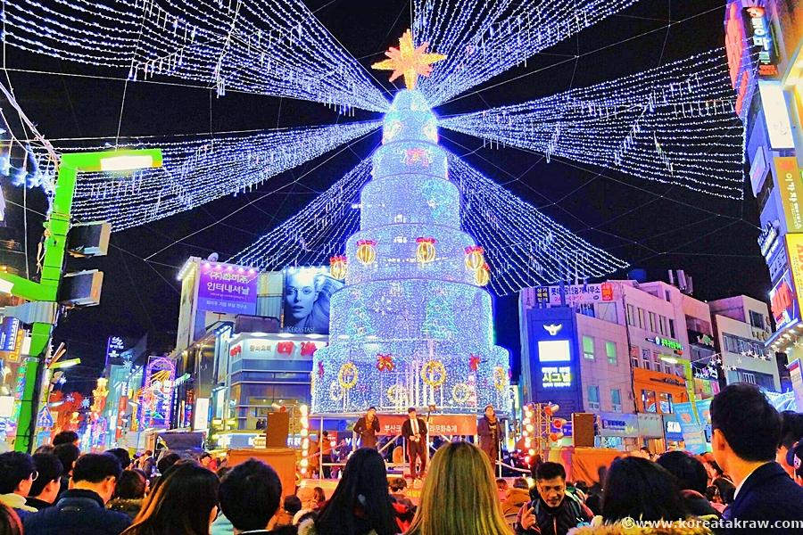 광복동크리스마스사진