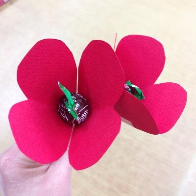 발렌타인 하트 사탕 만들기