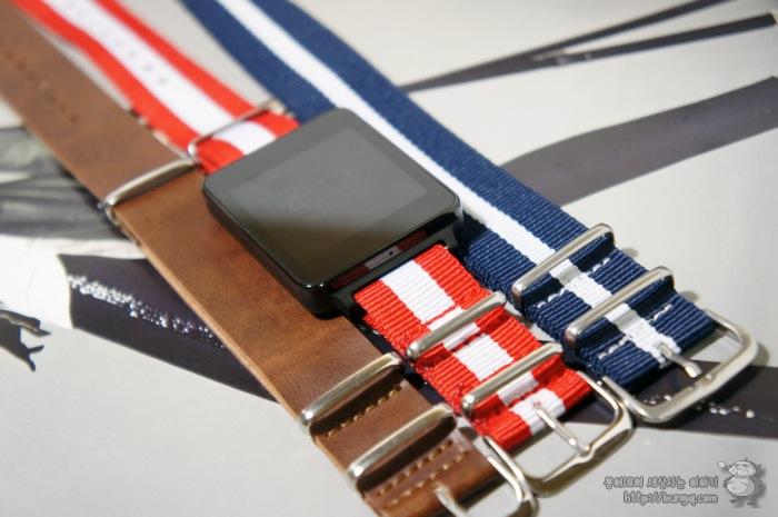 g watch, G워치, 시계줄, 교체, 나토밴드, 장점, 단점