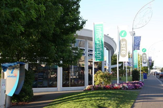 〔타우포〕뉴질랜드 여행정보는 모두 이곳에서, '타우포 인포메이션센터(Taupo i-site)'