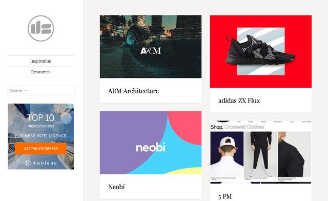웹,모바일 UI 디자인 패턴을 모아놓은 참고 사이트 7