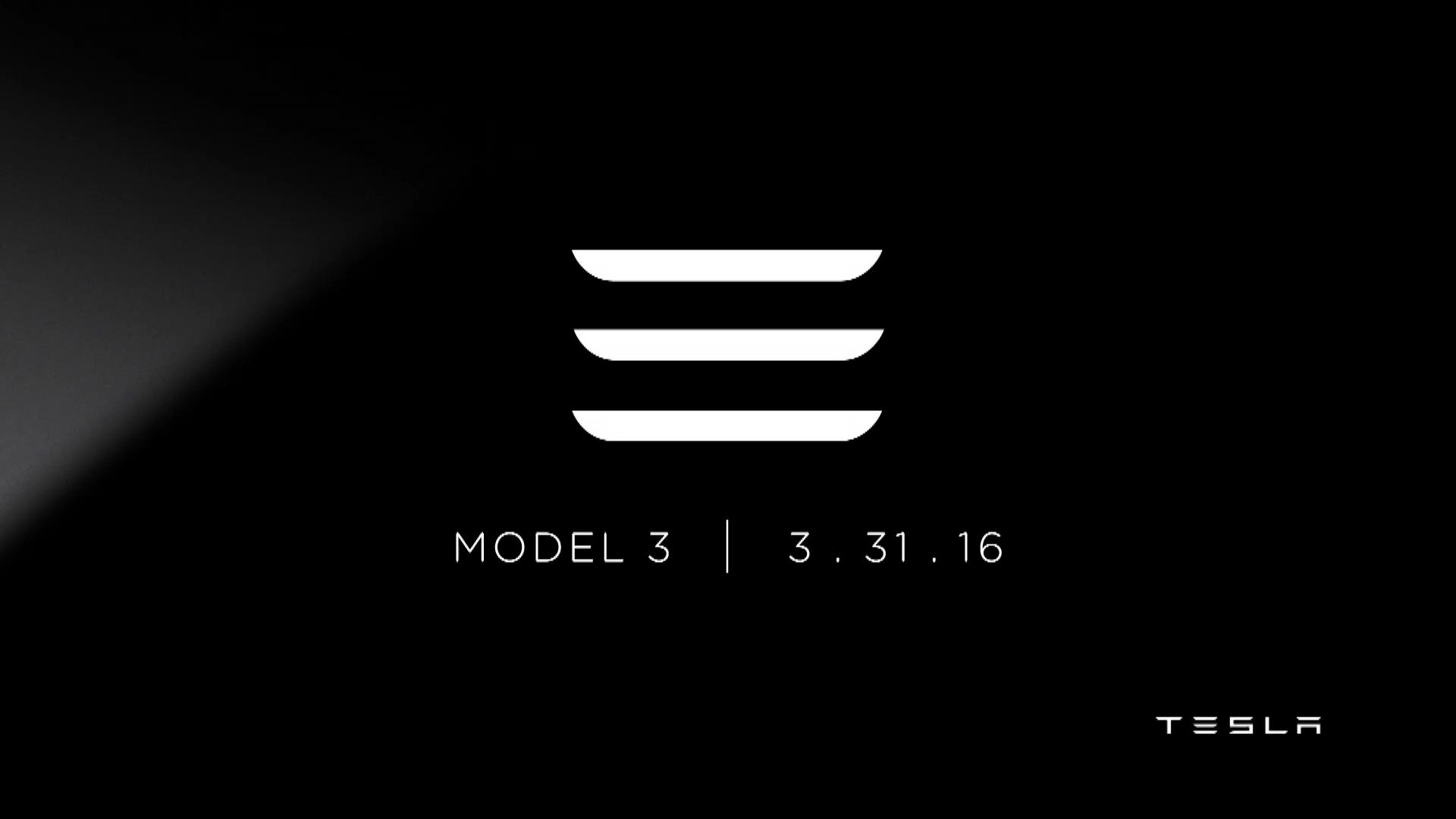 테슬라 모델3 발표회 요약
