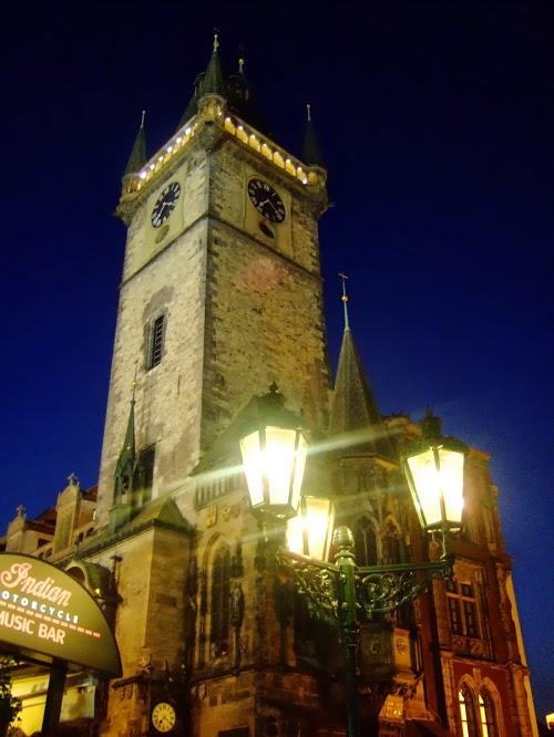체코 프라하 시계탑