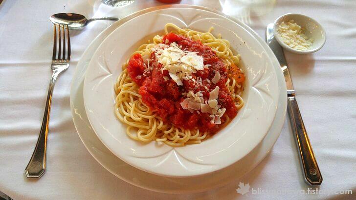 토마토 스파게티