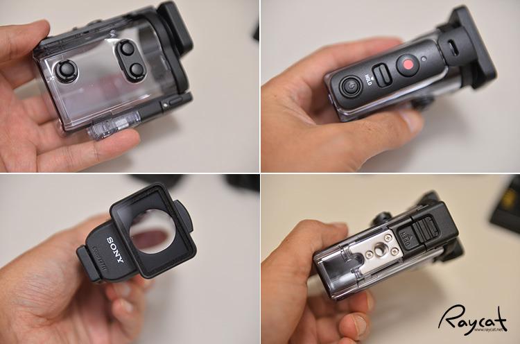 소니 액션캠 FDR-X3000 방수 하우징