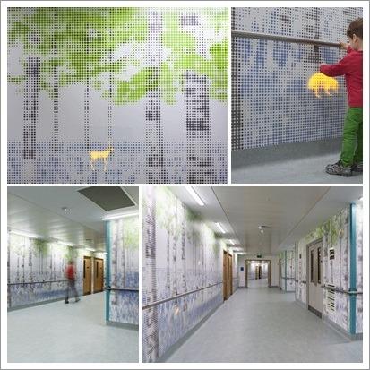 :: 어린이병원의 디지털 자연 산책로
