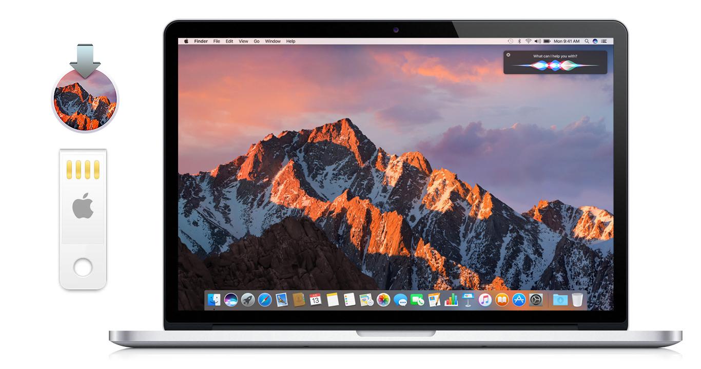macOS Sierra 클린 인스톨을 위한 USB 설치 디스크 제작 방법