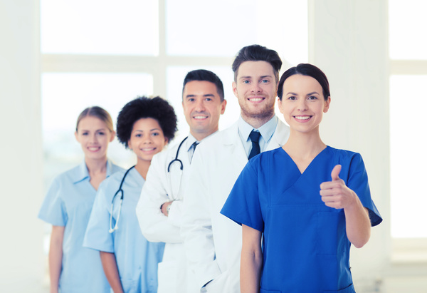 Free Stock Photo JPG file Group of happy doctors at hospital Stock Photo 12