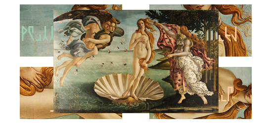보티첼리의 비너스의 탄생 (The Birth of Venus, Botticelli) & Godnamo, Tolgul
