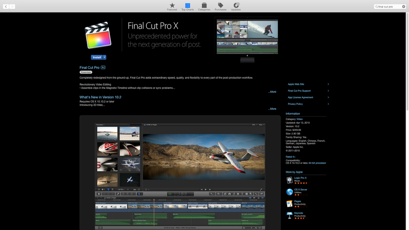 Apple Final Cut Pro X 1032 Crack And Serial Key Patch