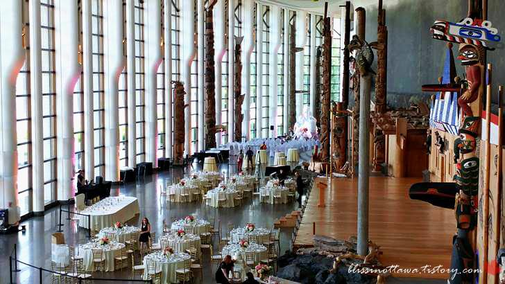 세계 최대 규모 실내 토템 기둥 컬렉션입니다