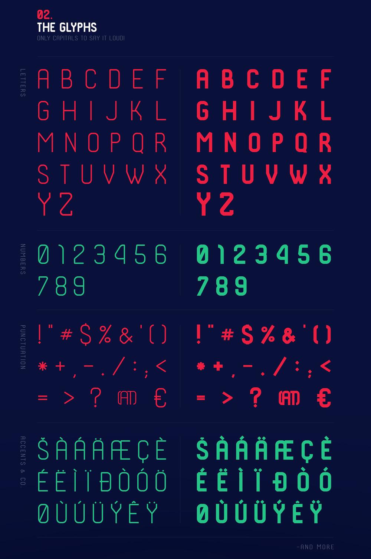 빈티지 무료 영문 폰트 - Free Vintage Font : SHKODER 1989