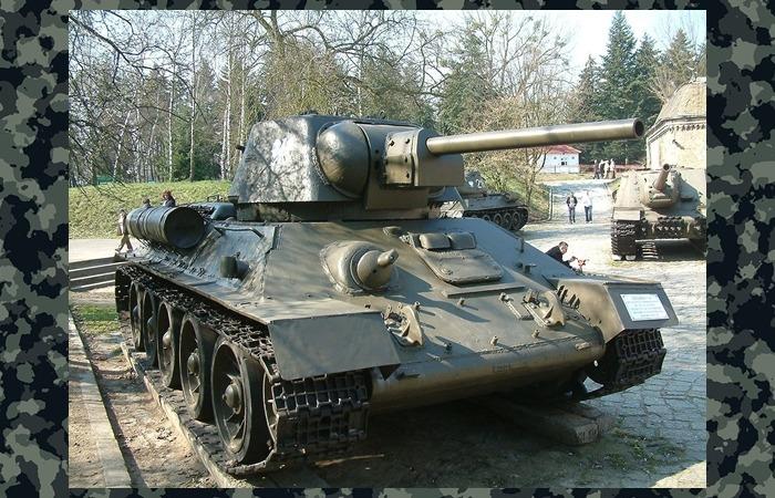 사진: 북한군의 주력무기인 T-34탱크. 네코부대는 이 T-34 탱크의 부품과 매뉴얼 등을 탈취하여 다부동전투의 승리에 기여했다. [6006부대의 네코부대 활약상]