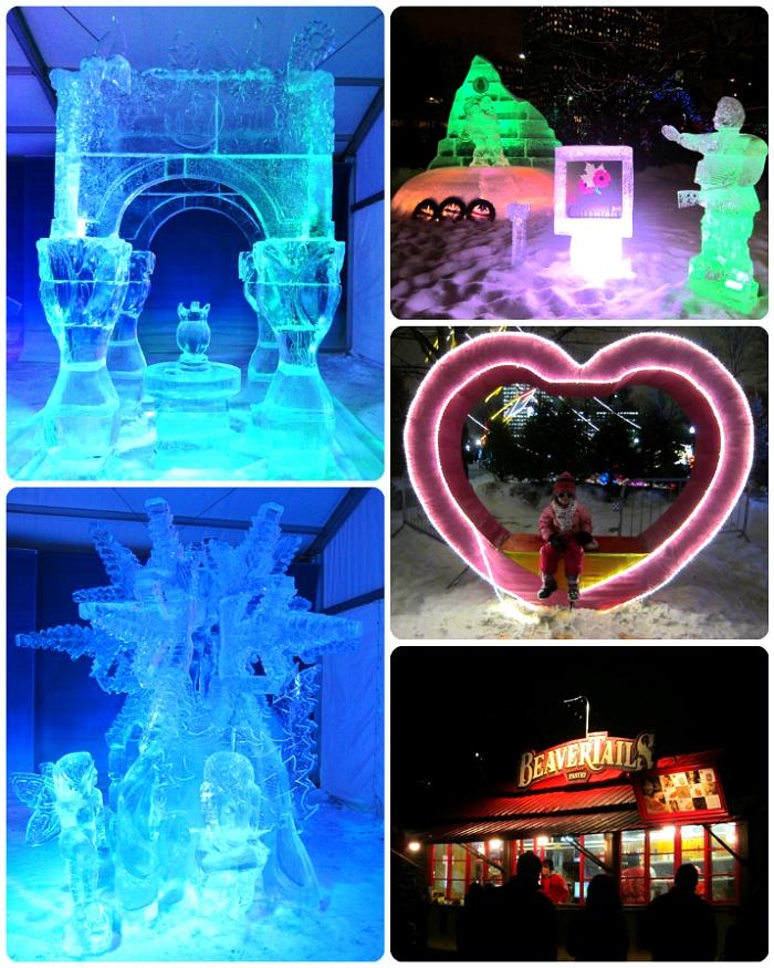 캐나다 오타와 윈터루드 국제 얼음 조각 대회 Canada Ottawa Winterlude