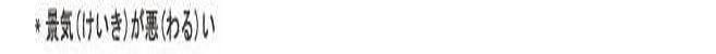 오늘의 일본어 회화 단어 1일차. 경기 설비투자 타사 002