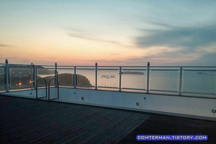 어반하임펜션 옥상수영장