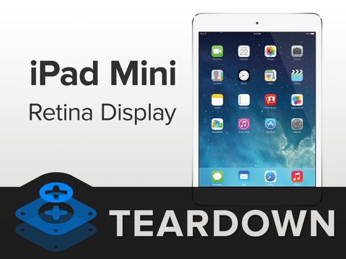 아이패드 미니 레티나(iPad Mini Retina) 분해
