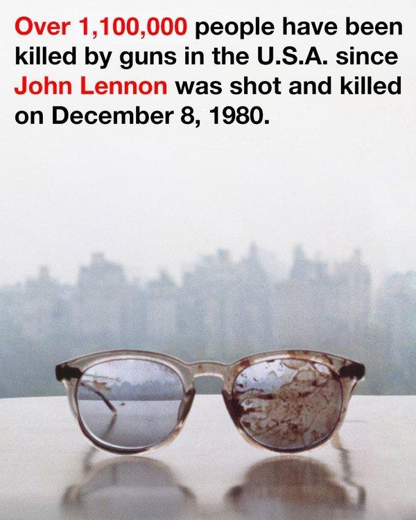 존 레논 35주기.. 그의 아내 오노 요코가 트위터에 올린 글과 사진