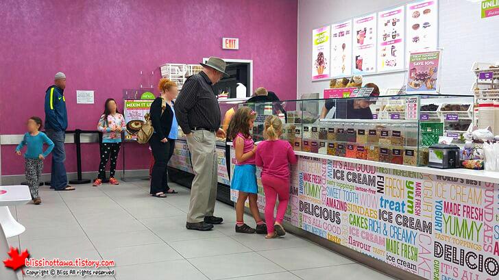 캐나다 아이스크림 가게