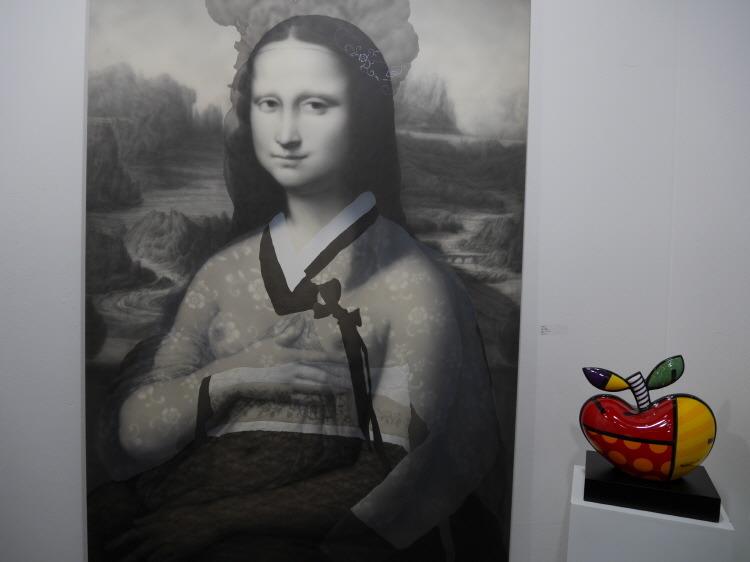 부산 미술전시회 아트부산2017 미술작품 Mona Lisa