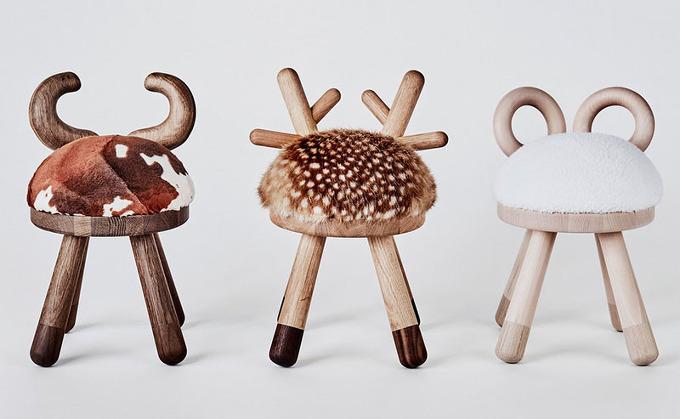 *디자인 스툴 These Quirky Kid's Stools Were Inspired By Farmyard Animals