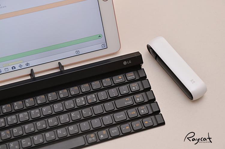 태블릿에 연결한 KT LTE에그