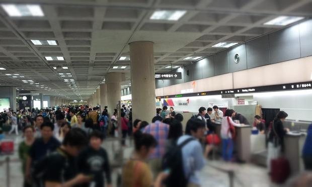 공항의 모습
