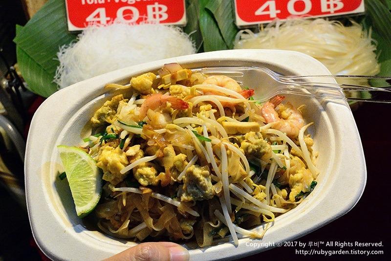 태국 치앙마이 여행 / 치앙마이 하이라이트 / 올드타운 선데이 마켓(Sunday Market) 야시장 먹거리 체험