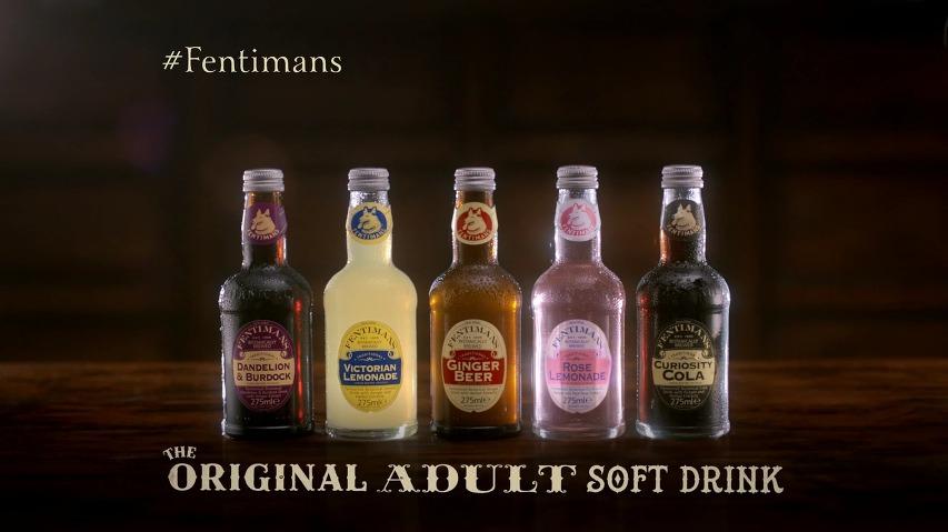 변태적이지만 부드러운 크리에이티브, 어른들을 위한 성인용 소프트 드링크(Adult Soft Drink) 펜티먼즈(Fentimans)의 부드러운 성인용 TV광고  [한글자막]