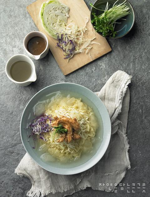 봉지라면의 변신, 시원한~ 냉라면 요리법들!