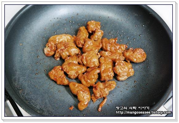 간장 닭강정