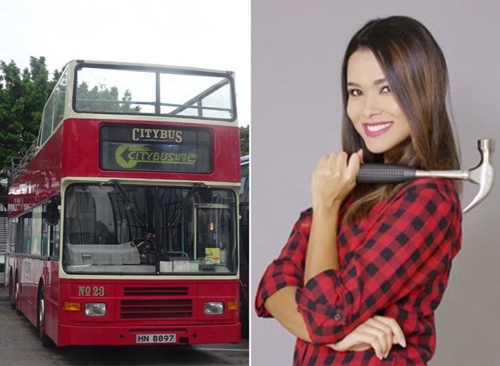 두 영국 여성이 망치를 들고 2층 버스에 올라 탄 사연