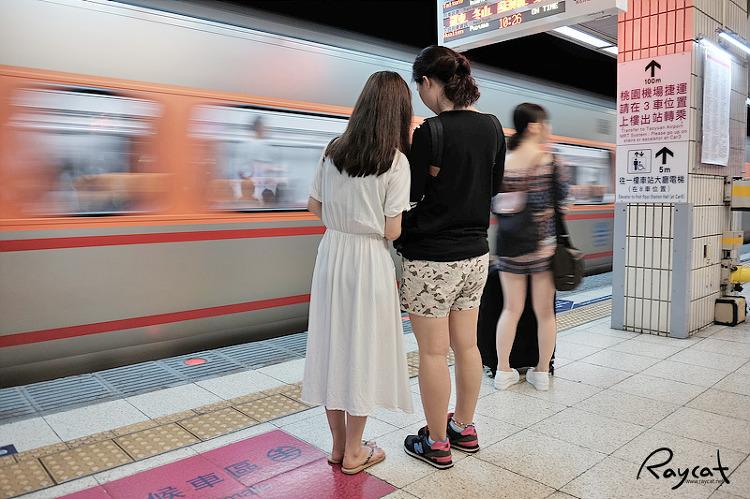 타이페이 메인역 지하 플랫폼