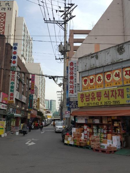 영등포 시장 주변