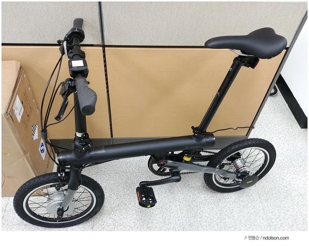 미국 배송되는 직구족을 위한 역직구팁 샤오미 자전거 직구 Xiaomi Qicycle Electronic Foldable Bicycle Folding Electric