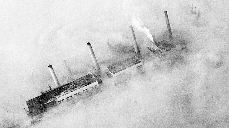 사진: 그레이트 스모그는 1952년 일어난 최악의 환경오염 사건이다.