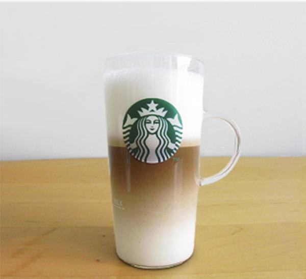 스타벅스 우유거품기, 집에서 즐기는 라떼와 카푸치노! 스타벅스 밀크포머 & 내열 유리 머그컵 세트