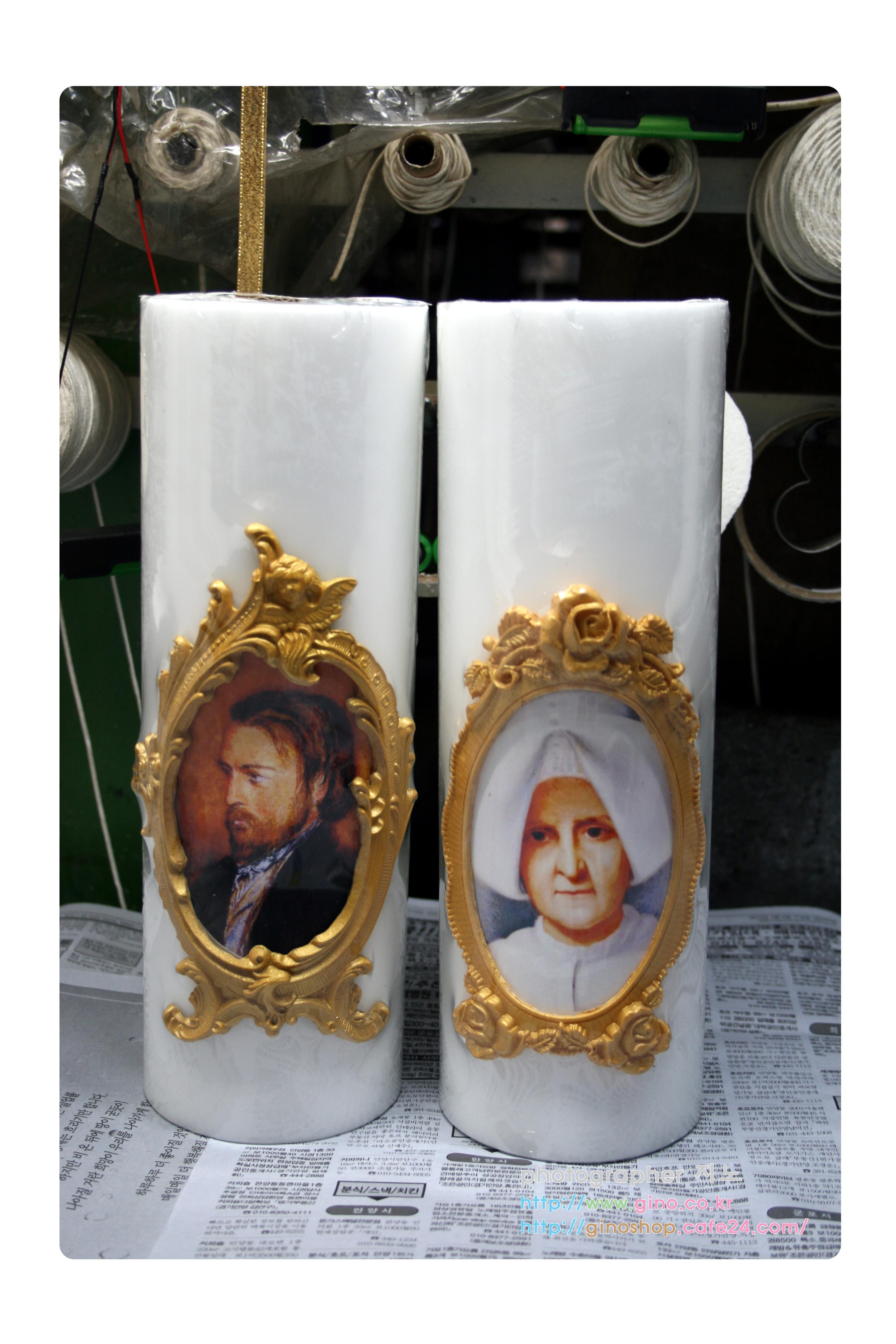 성빈첸시오 아바울로 선물 양초
