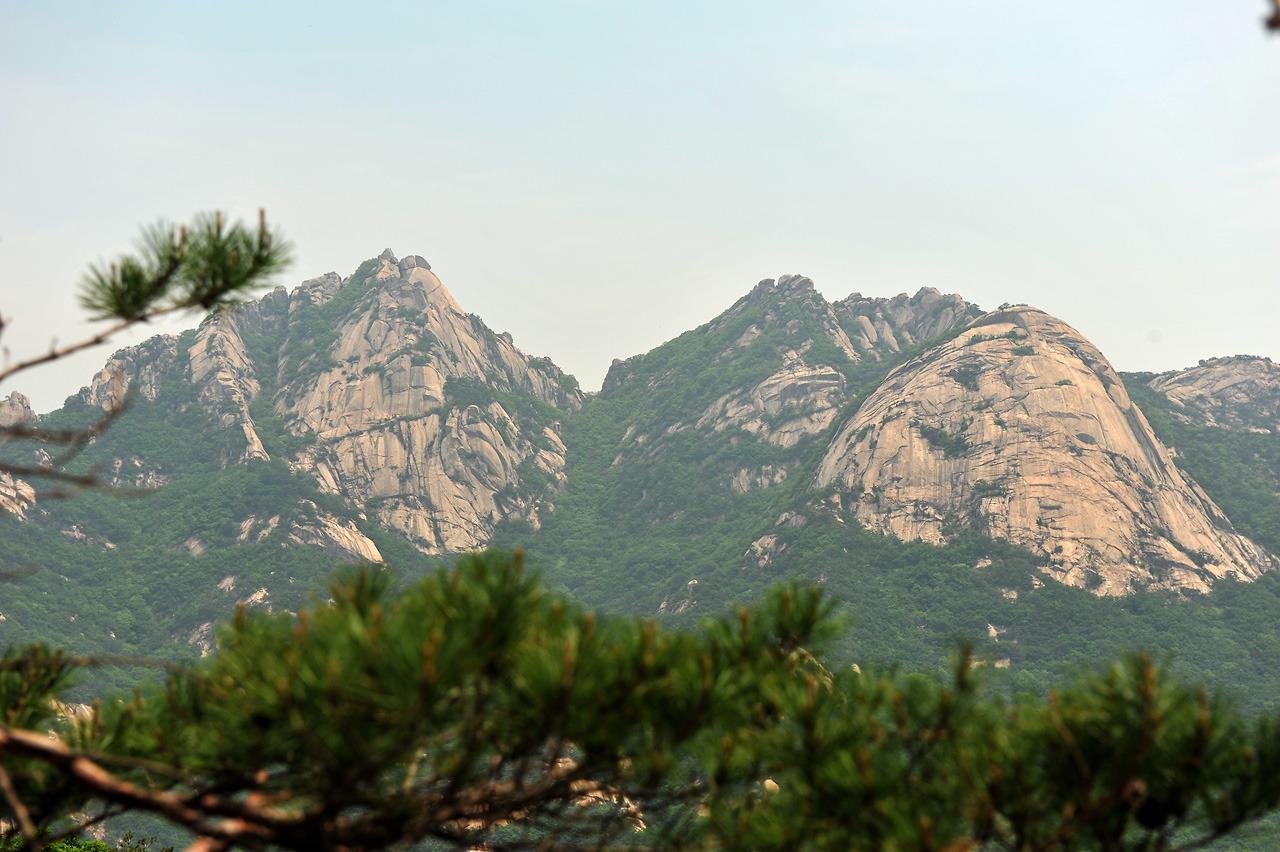 2012년5월 북한산 의상능선
