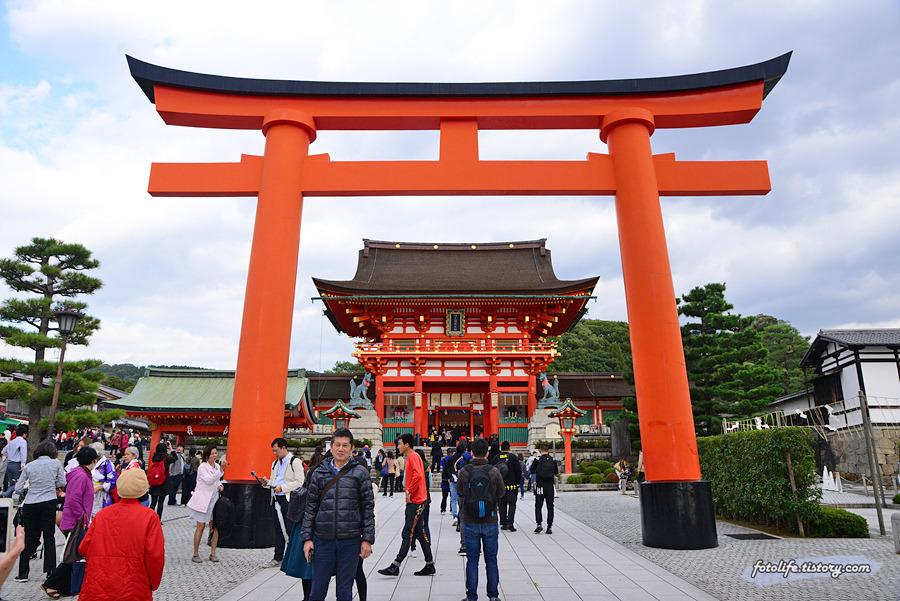 [일본/교토] 수많은 도리이가 있는 후시미이나리 신사(伏見稲荷大社)