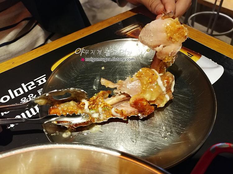 맛닭꼬 마늘 치킨 현미 베이크