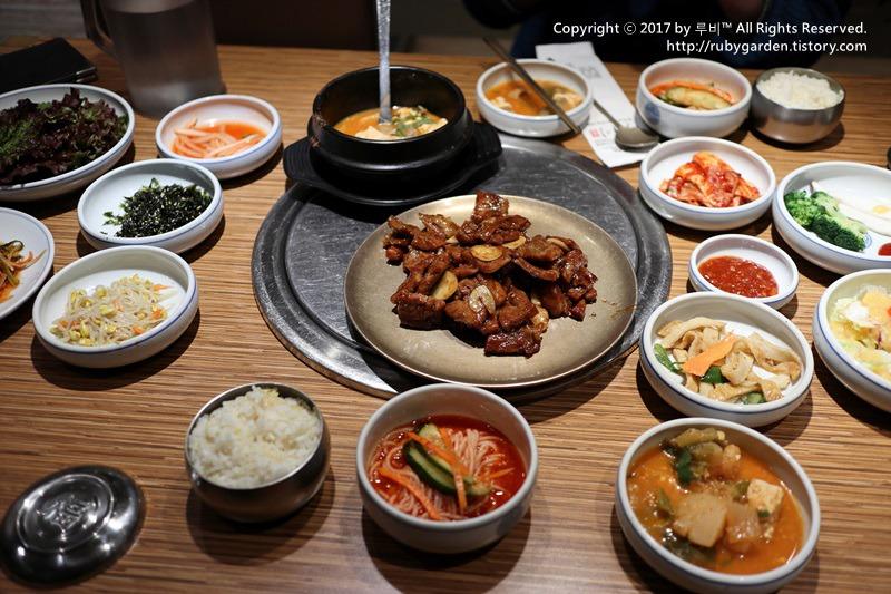 서울 명동 맛집 / '왕비집' 명동 본점에서 맛본 돼지갈비 정식