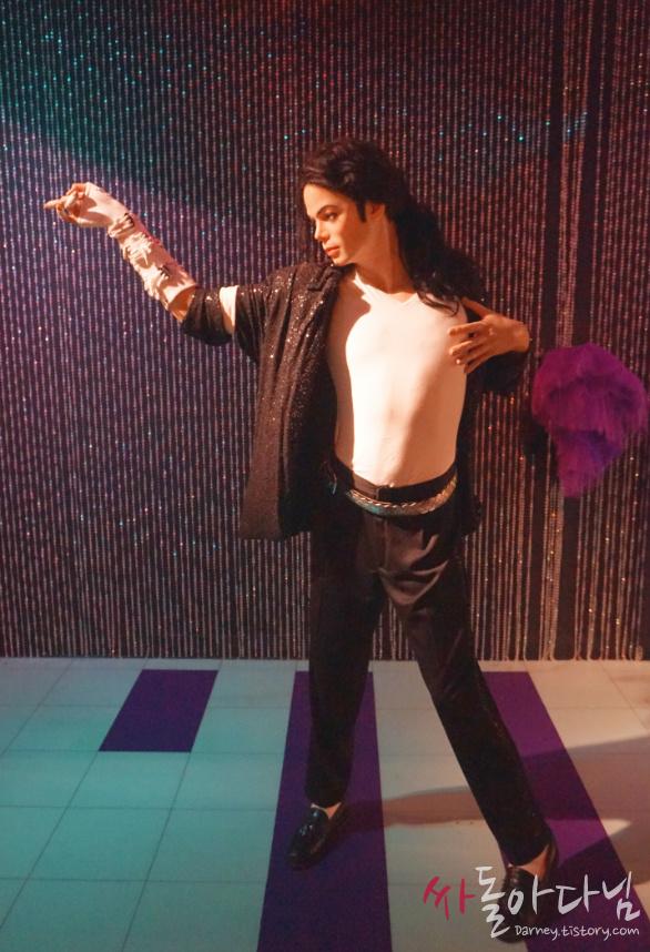 시드니 마담 투소(Madame Tussauds) - 마이클 잭슨