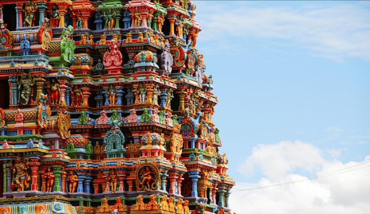 인도 미낙시 순다래슈와라사원(Meenakshi Sundareswarar Temple)