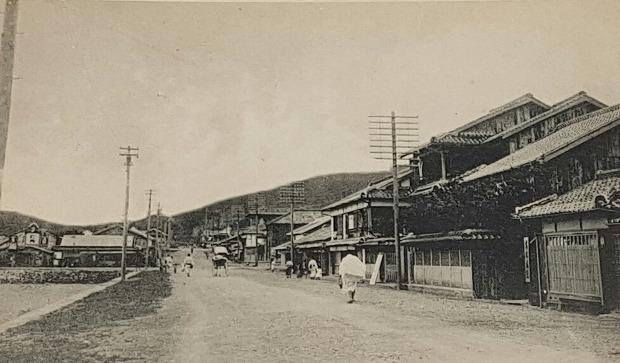 일제 강점기 신마산 혼마치(本町)
